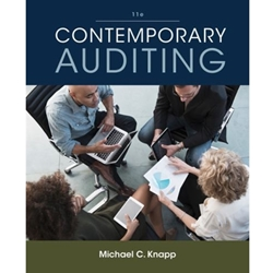 contemporary auditing real issues and cases by michael c knapp A contemporary auditing real issues and cases seventh edition michael c knapp university of oklahoma\ south-western 1% cengage learning-australia • brazil • japan • korea • mexico • singapore • spain • united kingdom • united states.